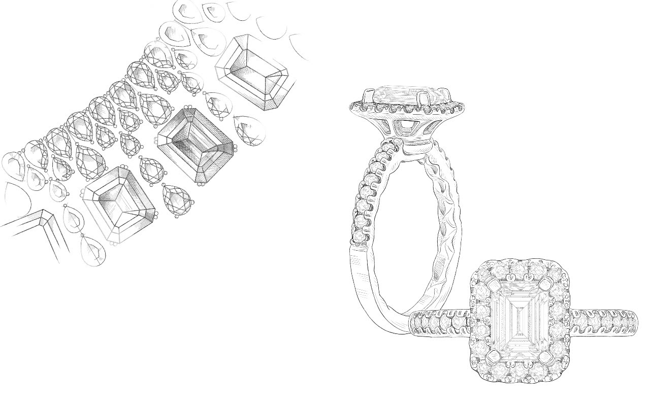 Design an Extraordinary Engagement Ring at Michael Agnello Jewelers